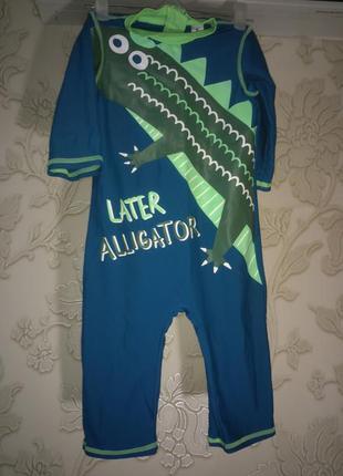 Детский гидрокостюм \ костюм для плавания \ плавки \ дайверский костюм \ дайвер