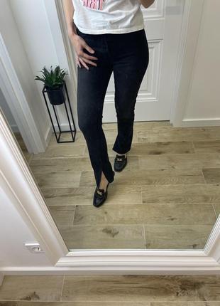 Модные джинсы , классные женские джинсы с разрезами