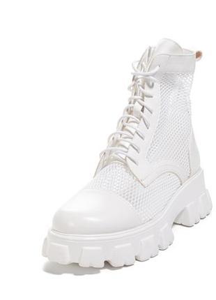 🛍летние ботинки на платформе