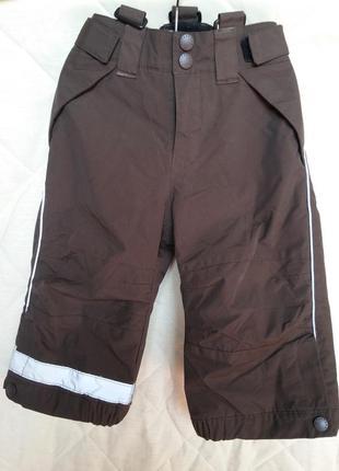 Зимние термо штаны брюки h&m eur 86