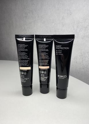 Bb-крем kiko milano daily protection bb cream spf 30