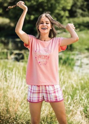 Женская пижама домашняя одежда key распродажная цена