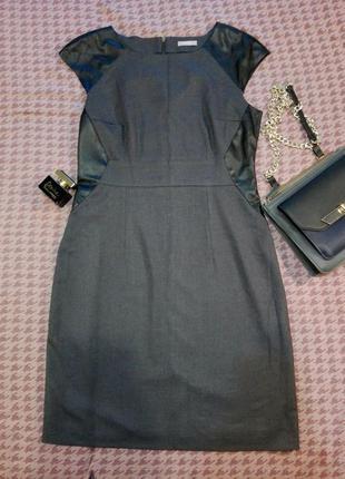 Женственное платье графитового цвета от orsay