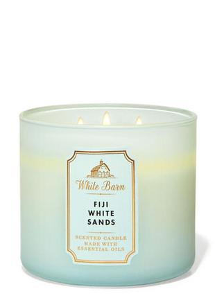 Ароматическая свеча bath and body works, fiji white sands