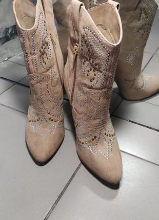 Черевички - ковбойки.ботинки - ковбойки 1=2