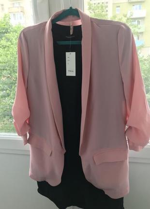 Пиджак блейзер k.zell paris  пудрового цвета