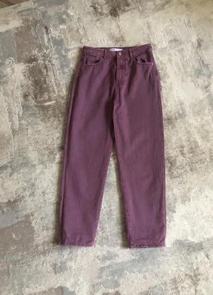 Цветные джинсы zara
