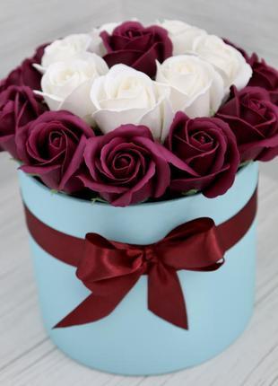 Букет із мильних роз