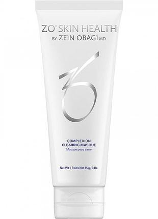 Очищающая маска выравнивающая цвет кожи zein obagi zo skin health complexion clearing masque