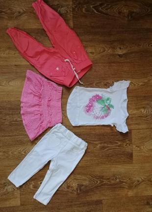 Одяг для дівчинки 86-92