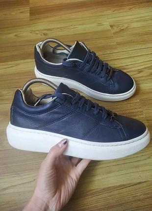 Шкіряні кросівки topshop