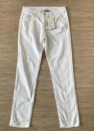 Новые (с этикеткой) стильные белые джинсы от marc louge, размер 40, укр 46-48