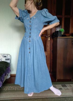 Шикарное винтажное платье