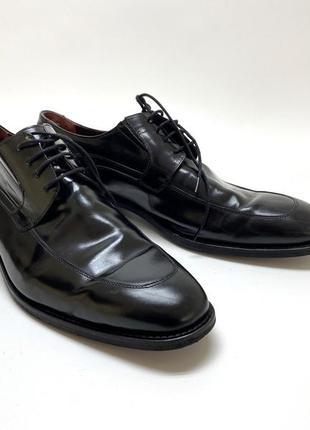Туфли эксклюзивные ссs sarar, черные, кожаные