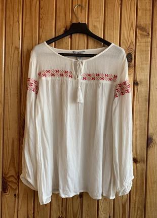 Блуза вышиванка летняя