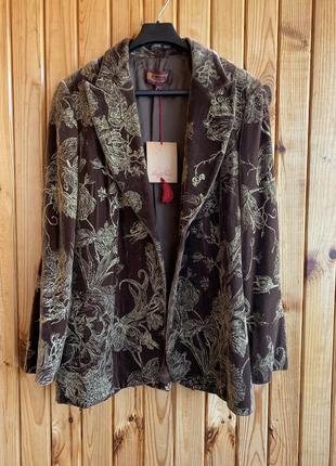 Жакет пиджак блейзер в стиле бохо