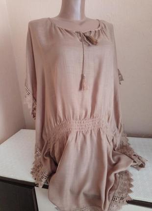 Красива туніка -блуза -накидка .