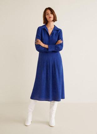 Новое платье миди, mango, xs