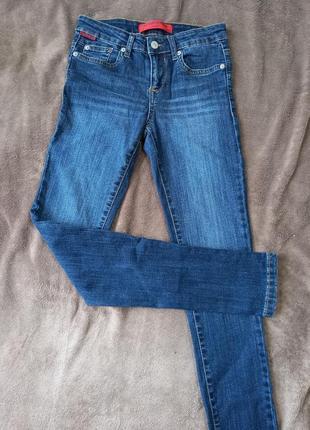 Штаны джинсы скинни узкачи