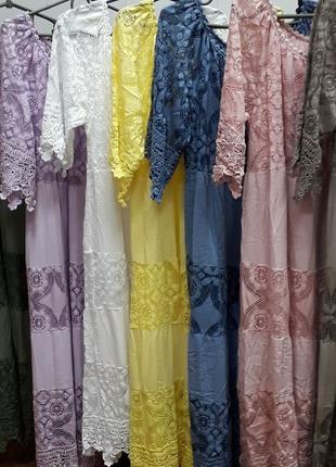 Платье кружевное италия3 фото