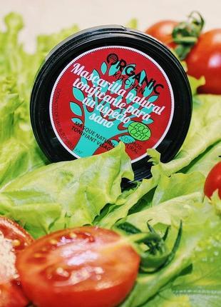 """Маска для лица тонизирующая """"томатный румянец"""" organic kitchen"""
