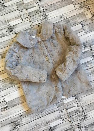 Куртка из искусственного меха tu на 3-4 года (98-104 см)