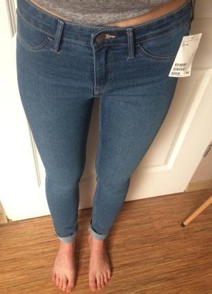 Идеальные новые скинни джинсы