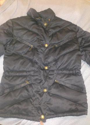 Куртка-пуховик diadora. номерная!