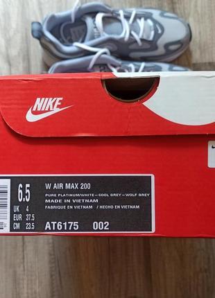 Женские кроссовки nike air max 200 оригинал6 фото