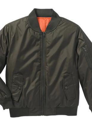 Куртка бомбер для мальчика на 10-11 лет, новая, на осень и весну