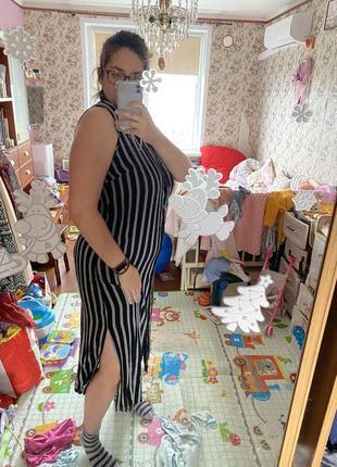Сарафан платье рубашка туника на пляж вискоза