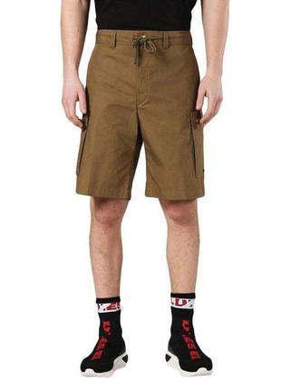 Мужские шорты карго-бермуды от бренда diesel