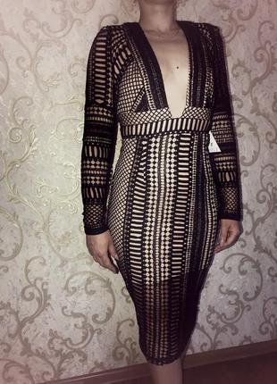 Шикарное новое платье р. 12
