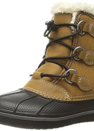 Зимние ботинки crocs р. с9, с10 и с12. новые