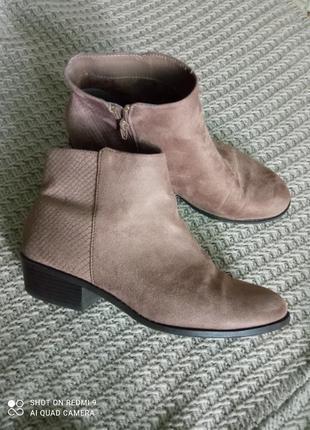 Ботинки черевички ботильони казаки
