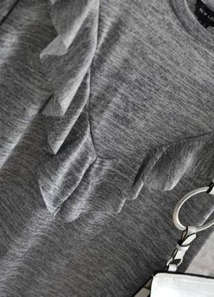 Платье-туника с воланом new look
