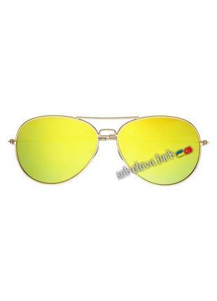 Очки окуляри темные солнцезащитные авиаторы уф 400 от h&m2 фото