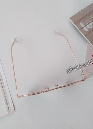 Очки окуляри темные солнцезащитные авиаторы уф 400 от h&m10 фото