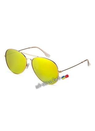 Очки окуляри темные солнцезащитные авиаторы уф 400 от h&m3 фото