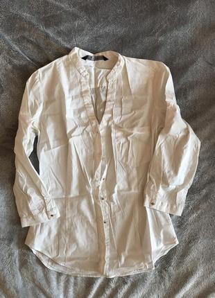 Рубашка zara;s; в классическом стиле
