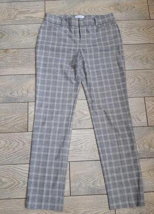 Оригинальные брюки женские кельвин кляйн в клетку calvin klein