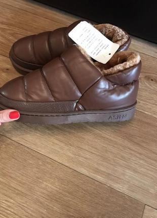 Зимние ботинки, угги, дутые ботинки, термоботинки