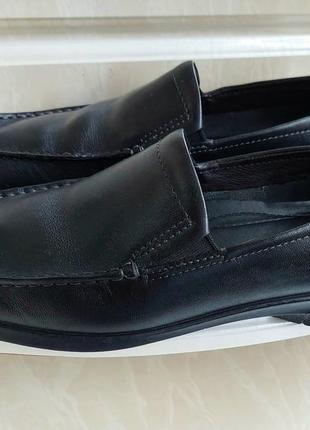 Кожаные туфли ecco,41 размер.