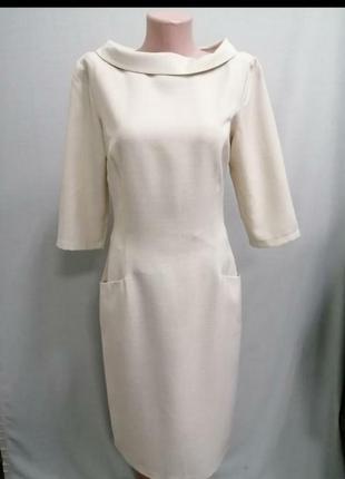 Шикарное платье, лен, классика.