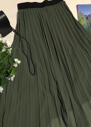 Плиссированная юбка berna ( италия)
