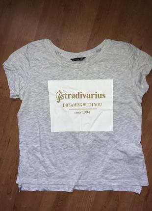 Футболка stradivarius