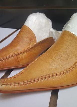 Туфли мужские из натуральной кожи elegante mk24