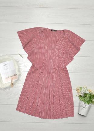 Красиве плісіроване плаття boohoo.