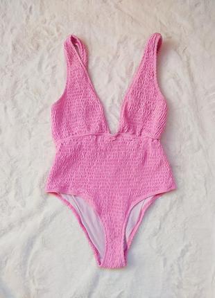 Купальник, сдельный купальник, раздельный купальник, розовый купальник