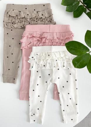 Лосины штаны штанишки для девочки george
